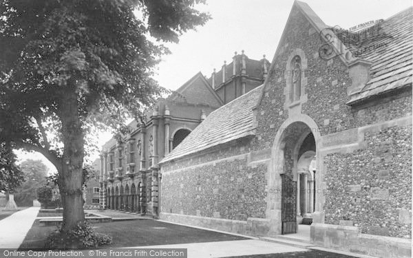 Photo of Winchester, The College, War Cloister 1926