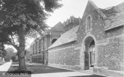 Winchester, The College, War Cloister 1926