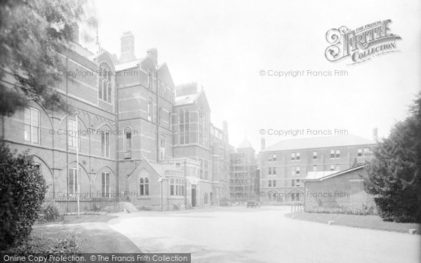 Photo of Winchester, The County Hospital 1922