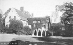 Winchester, The Deanery 1893