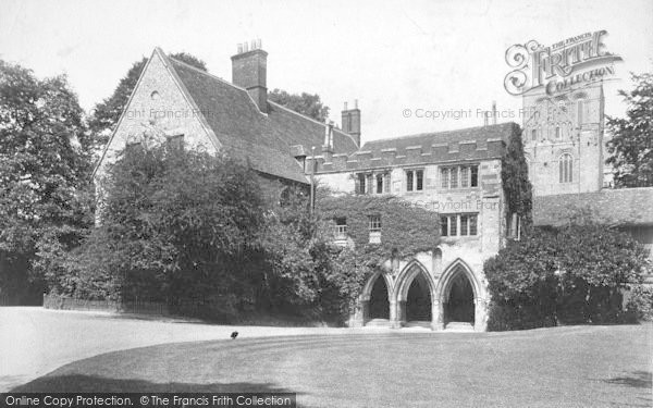 Photo of Winchester, The Deanery 1906