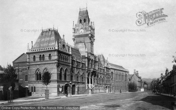 Photo of Winchester, The Guildhall 1886