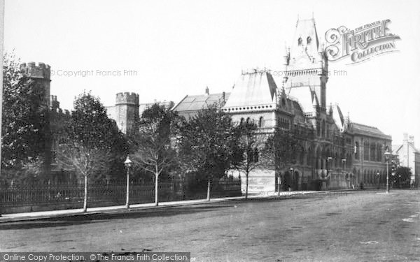 Photo of Winchester, The Guildhall 1893