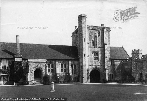 Photo of Winchester, The Hospital, St Cross 1886