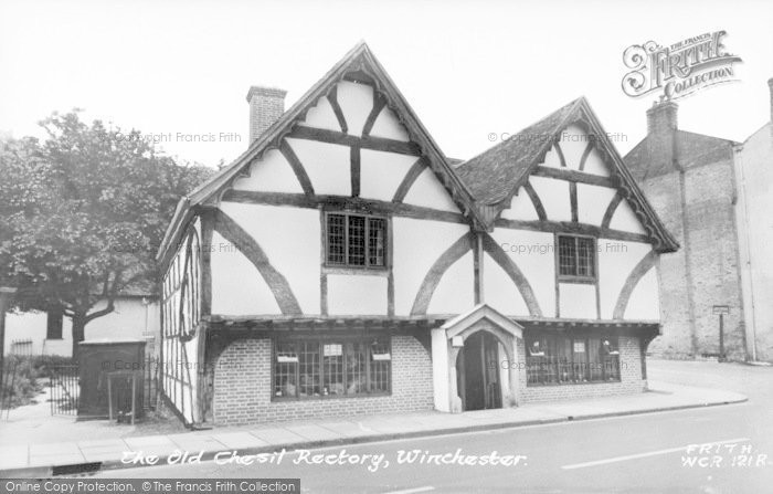 Photo of Winchester, The Old Chesil Rectory c.1960