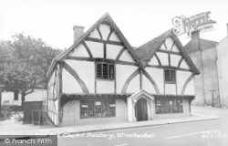 Winchester, The Old Chesil Rectory c.1960