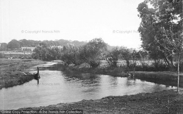 Photo of Winchester, The Park And St Giles Hill 1911