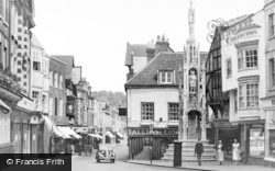 Winchester, The Prentice And City Cross c.1955