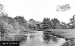 Winchester, The River c.1960