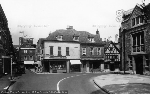 Photo of Winchester, The Square 1936