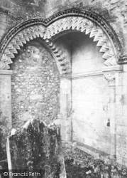 Winchester, The Triple Norman Arch 1896