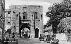 Winchester, The West Gate c.1950