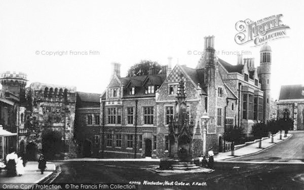 Photo of Winchester, Westgate 1899