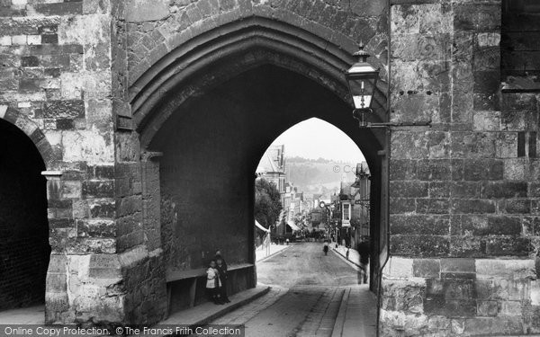 Photo of Winchester, Westgate And High Street 1911
