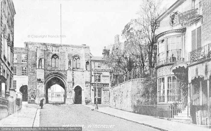 Photo of Winchester, Westgate c.1900