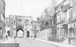 Winchester, Westgate c.1900