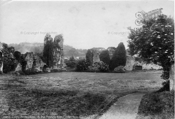 Photo of Winchester, Wolvesley Abbey Ruins 1906