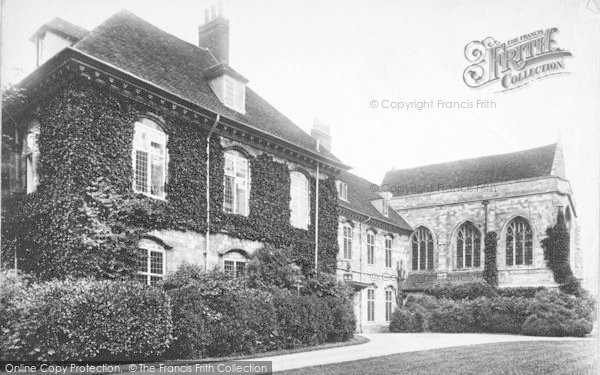 Photo of Winchester, Wolvesley Palace 1906