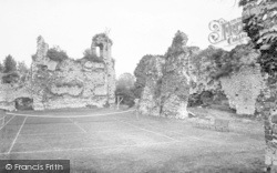 Winchester, Wolvesley Palace 1919
