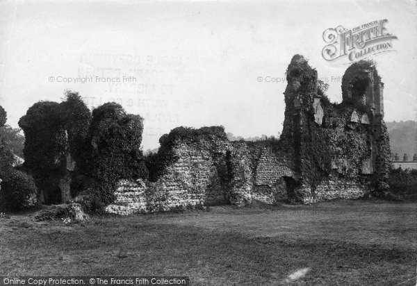 Photo of Winchester, Wolvesley Palace Ruins 1911