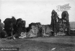 Winchester, Wolvesley Palace Ruins 1911