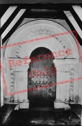 Church, Norman Door 1908, Winchfield