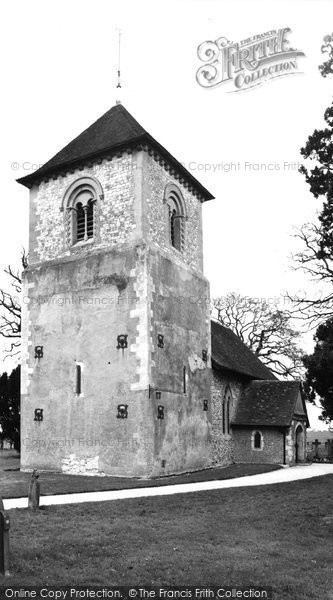 Photo of Winchfield, Church Of St Mary The Virgin c.1960