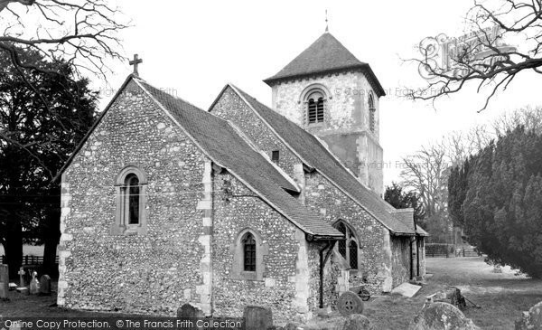 Photo of Winchfield, Church Of St Mary The Virgin c.1965