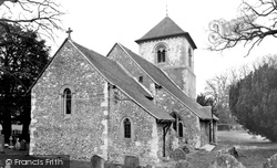 Winchfield, Church Of St Mary The Virgin c.1965