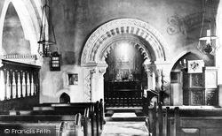 Winchfield, The Church Of St Mary The Virgin, Interior 1908