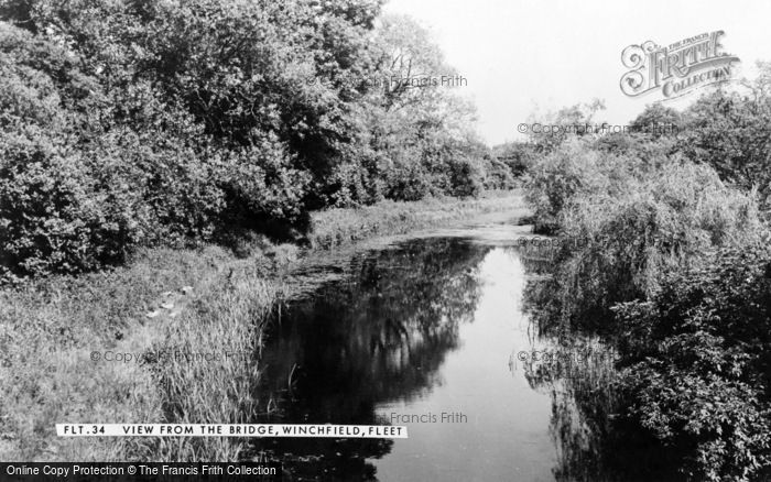 Photo of Winchfield, View From The Bridge c.1960