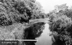 Winchfield, View From The Bridge c.1960