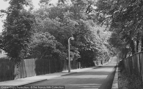 Photo of Winchmore Hill, Bush Hill c.1955