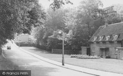 Winchmore Hill, Church Hill c.1960