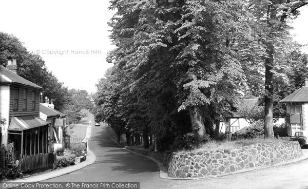 Photo of Winchmore Hill, Church Hill c.1960