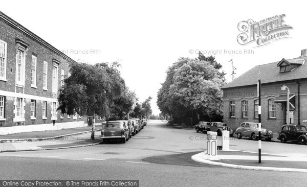 Photo of Winchmore Hill, Firs Lane c.1960