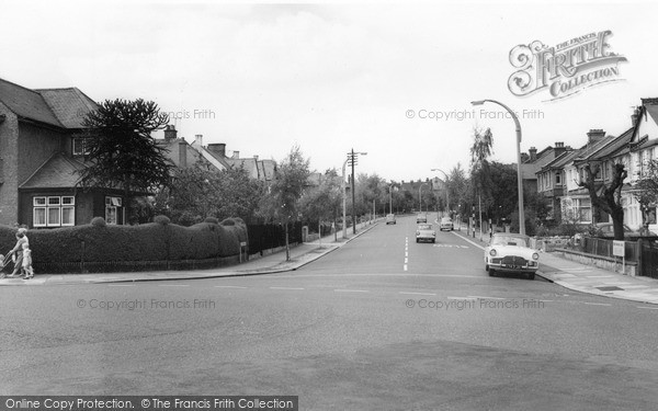 Photo of Winchmore Hill, Green Dragon Lane c.1960