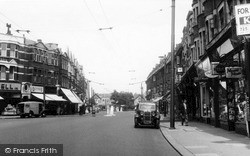 Winchmore Hill, Green Lanes c.1955