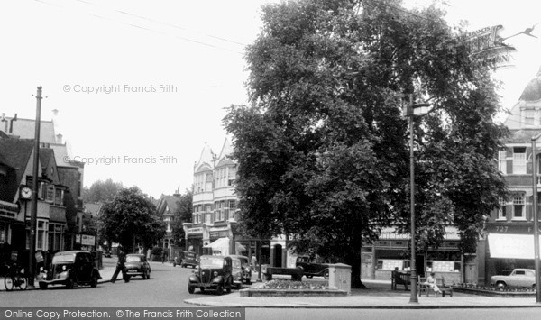 Photo of Winchmore Hill, Green Lanes c.1955