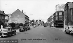 Winchmore Hill, Green Lanes c.1962