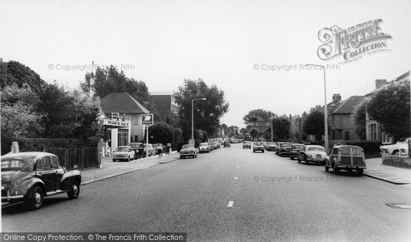 Photo of Winchmore Hill, Green Lanes c.1962
