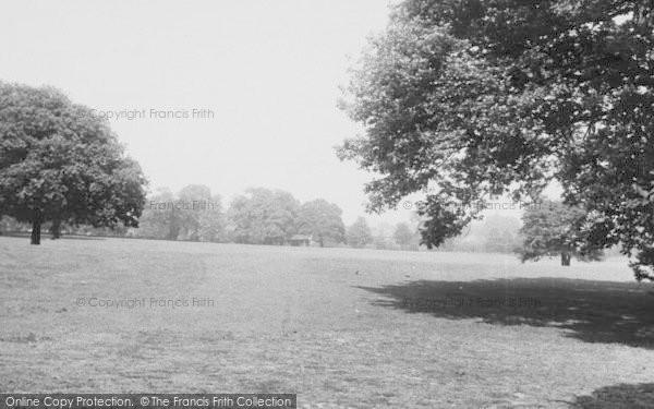 Photo of Winchmore Hill, Grovelands Park c.1955