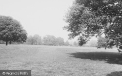Winchmore Hill, Grovelands Park c.1955
