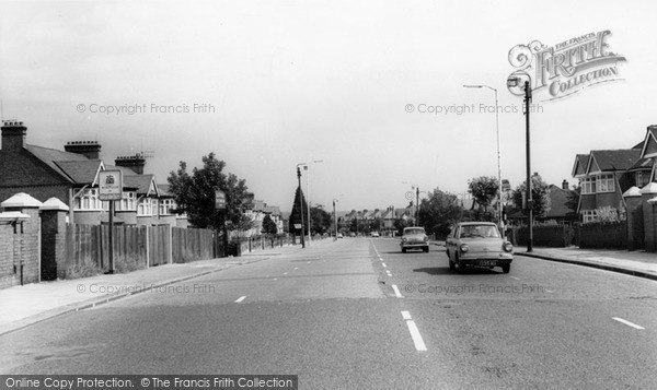 Photo of Winchmore Hill, Ridge Avenue c.1960