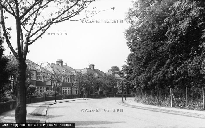 Photo of Winchmore Hill, Ringwood Way c.1955