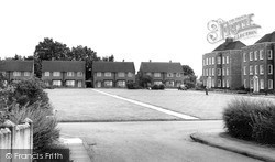 Winchmore Hill, River Bank c.1960