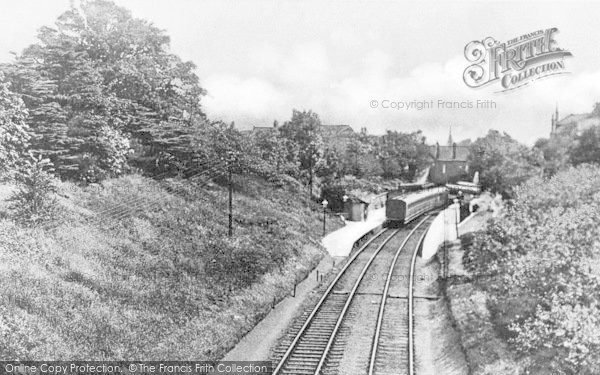Photo of Winchmore Hill, Station c.1900