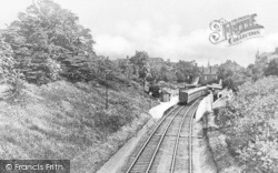Winchmore Hill, Station c.1900
