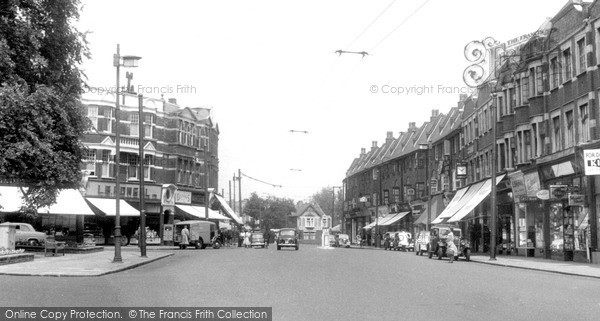 Photo of Winchmore Hill, The Broadway c.1955
