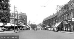Winchmore Hill, The Broadway c.1955